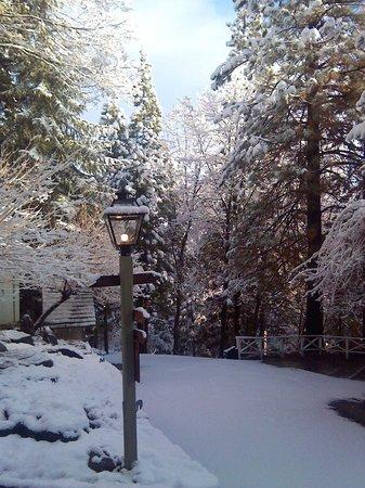 Narrow Gauge Inn : Path to Snow Trail