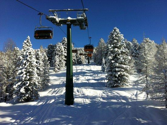 Province of Trento, Italien: alpen hotel corona - skiarea alpe lusia