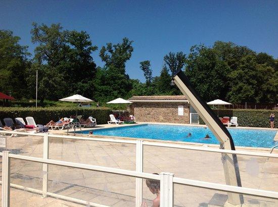 Residence du Chateau de Salles : Main pool