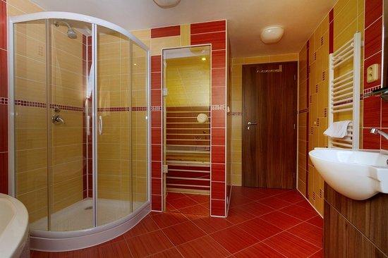 Hotel a restaurace KOCANDA: Koupelna s infrasaunou