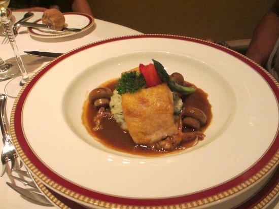 Restaurante Grano de Oro: Congrio y Calamar