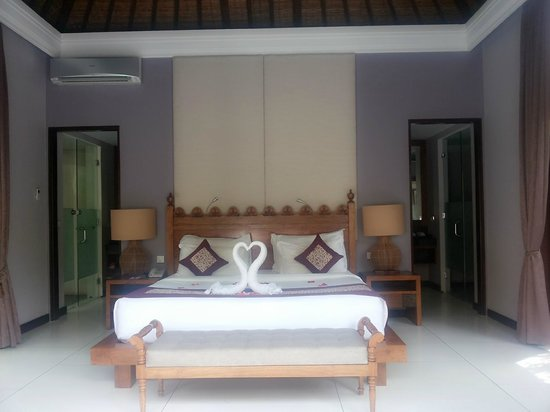 The Lokha Umalas Villas & Spa : kamar ketika pertama kali datang