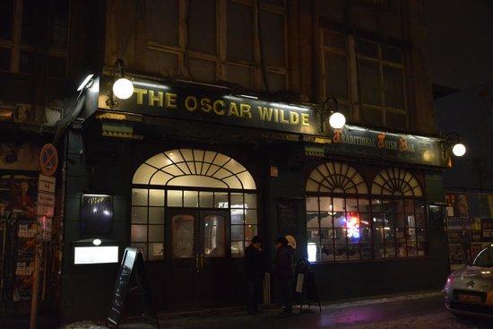 Oscar Wilde: ingresso del pub