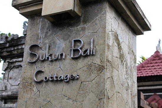 Sukun Bali Cottages: Вот так встречает