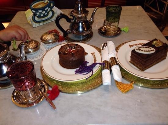 Patisserie Amandine Marrakech : pause gourmande