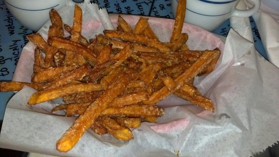 Miss Polly's Soul City Cafe : Sweet Potato Fries