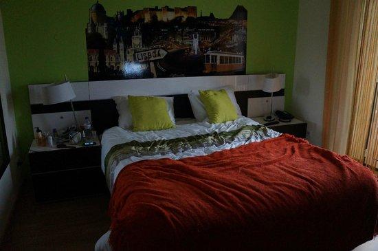 Residencial Vila Nova : кровать