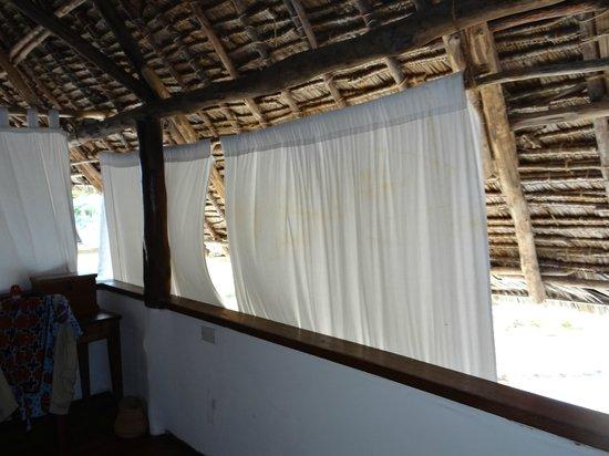 Ras Mbisi Lodge: Open Bungalow