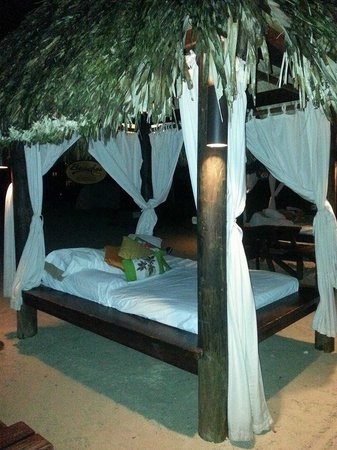 Beaches Negril Resort & Spa: private cabanas on the beach