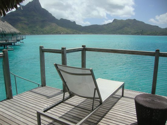 Le Meridien Bora Bora: Varandinha relax