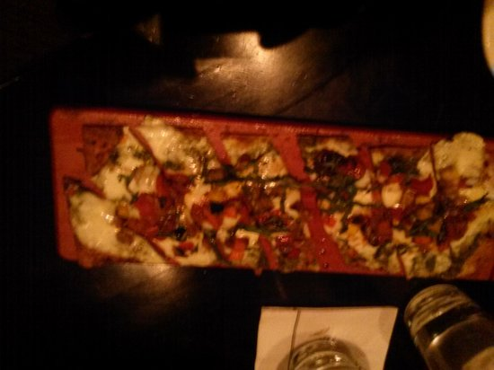 Cooper's Hawk Winery & Restaurant: ROASTED VEGETABLE & GOAT CHEESE Flat Bread