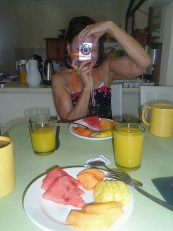 Hotel el Moro: A light breakfast on Day 1