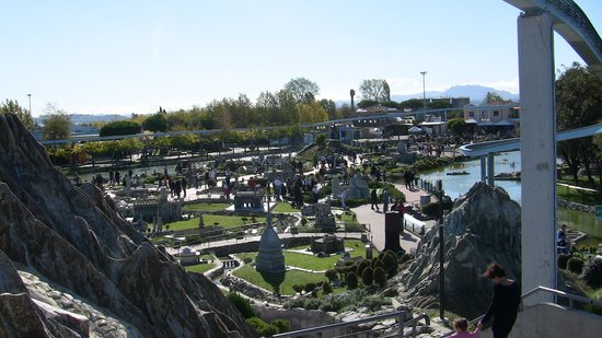 Italy in Miniature : Il parco visto dal trenino
