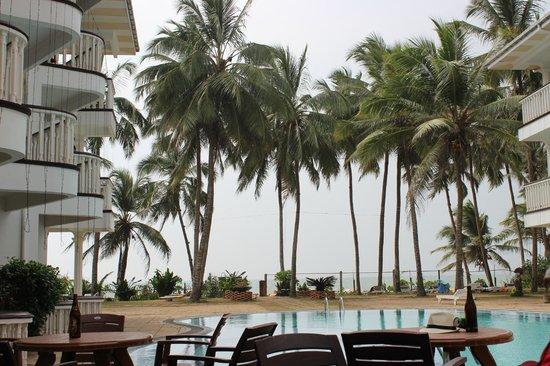 Olenka Sunside Beach Hotel: С балкона