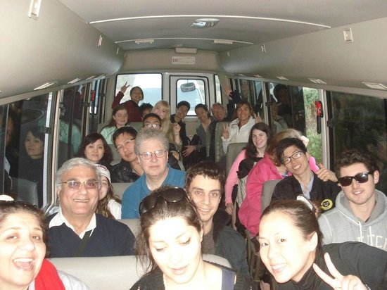 Wildlife Tours Australia: Vista do ônibus por dentro