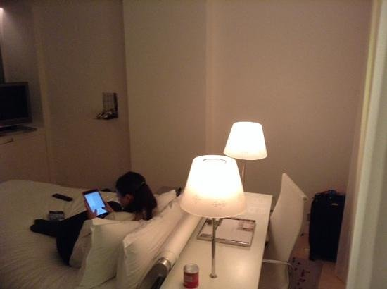Sanderson London Hotel : la habitacion