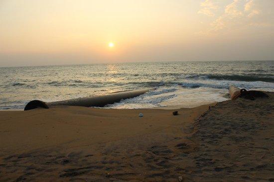 Olenka Sunside Beach Hotel: Закат на пляже