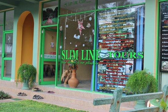Olenka Sunside Beach Hotel: Slim line tours
