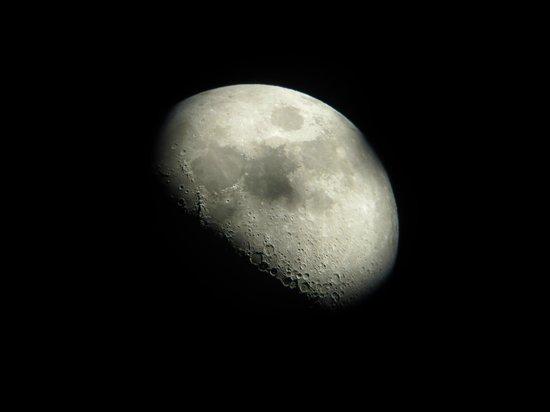 Turismo Migrantes : A lua vista no telescópio de Cerro Mamalluca