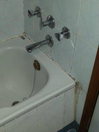 Admiral Plaza Hotel: bagno