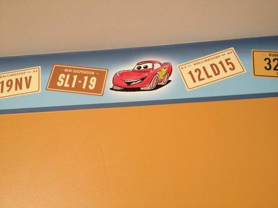 Disney's Hotel Santa Fe : Frise de la chambre