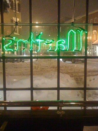 Martin's Tavern: During a blizzard