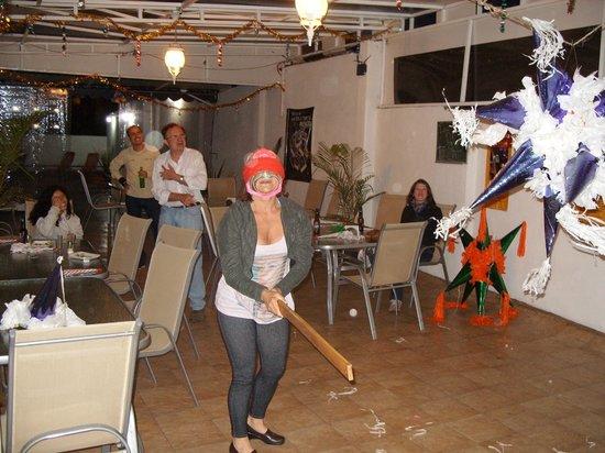 Hostel Amigo Suites: festa no hostel