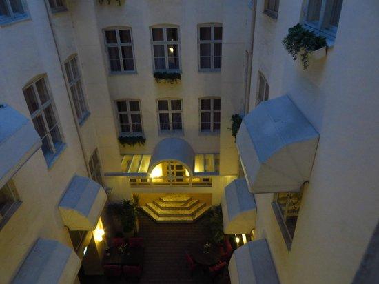 Hotel SKT. Annae : dalla mia camera