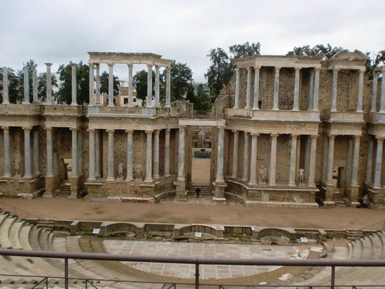 Roman Theater (Teatro Romano): Teatro de Mérida, Badajoz