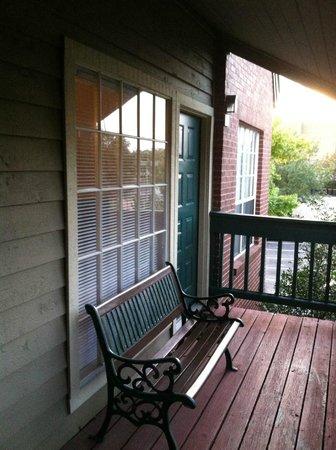 Habitat Suites Hotel: My balcony