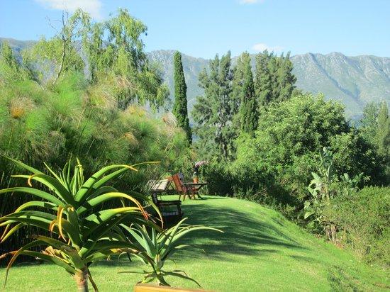 Rothman Manor: Garten mit Aussichtsplatz