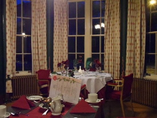 Atholl Arms Hotel: Small dining/meeting room : January 2014