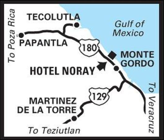 Hotel Noray: Regional Map