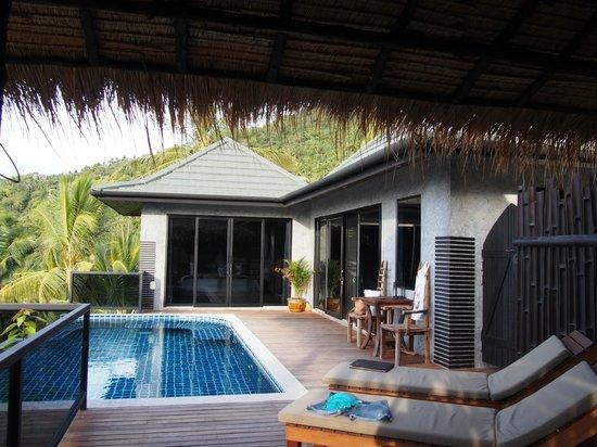 Koh Tao Heights Pool Villas: Pool area