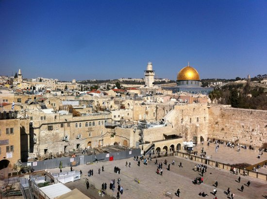 Ron Lev-Your Private Day Tour Guide in Israel: Western wall and Dome of the Rock, Jerusalem