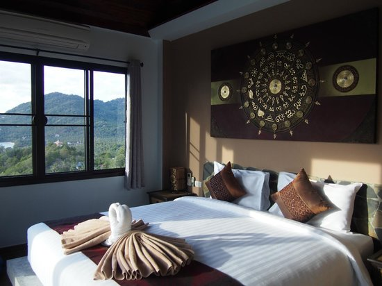 Koh Tao Heights Pool Villas: Bedroom