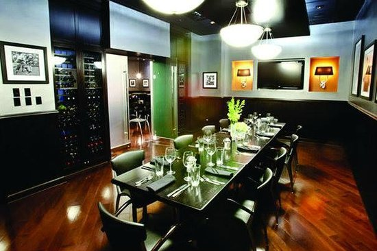 Shula's 347 Grill: Legends Room - Our Largest Private Dining Room Accommodating Up to 30 Guests