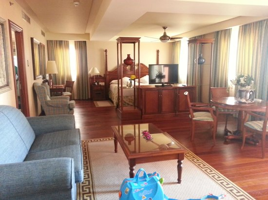 Gran Hotel Elba Estepona & Thalasso Spa: View of junior suite