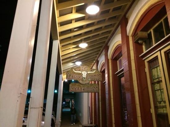 BT Longhorn Saloon & Steakhouse : The entrance to BT's