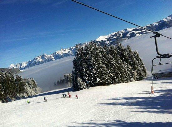 Schmittenhöhe : Наверху всегда отличная погода