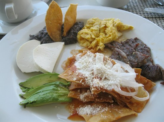 El Cid La Ceiba Beach Hotel: Break fast (looks good but tastes not as good :P)