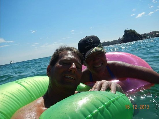 Dreams Huatulco Resort & Spa: Fun in the tubes