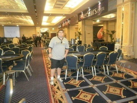 Casa Real Hotel: Lobby do Casino do Hotel.
