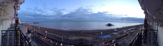 The Grand Brighton: Great view from my room