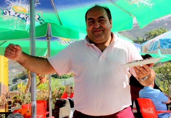 Bollullo : Heute als Vorspeise ein lauwarmer Pulposalat