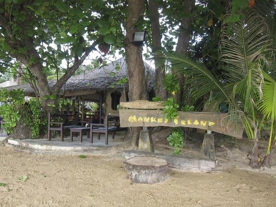 Monkey Island Resort: from the beach