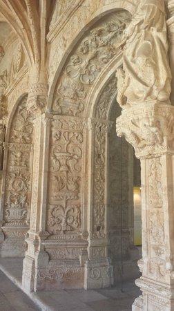 Monasterio de los Jerónimos: Mosteiro dos Jerônimos - detalhe da arquitetura