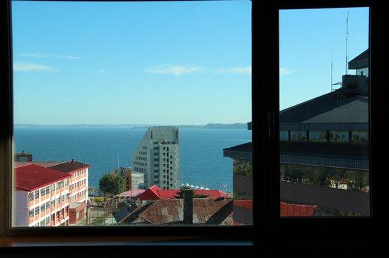 Hotel Manquehue Puerto Montt : Vista para o Oceano Pacífico