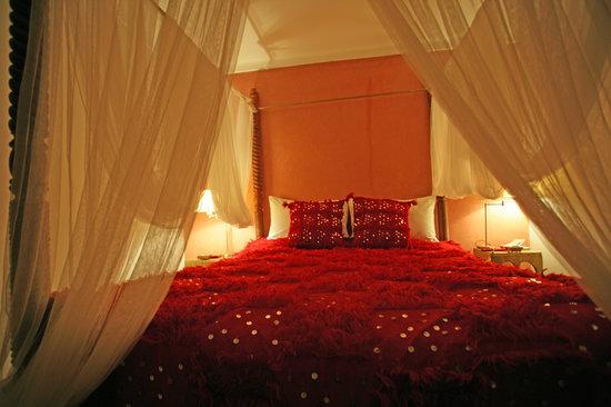 Riad La Cigale: Rouge room