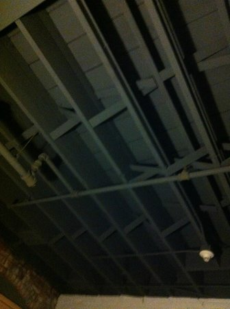 The Lofts Hotel: ceiling